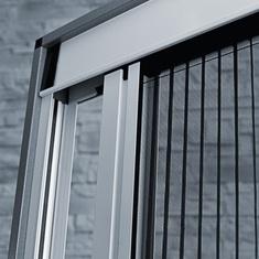 moskitiera plisowana balkonowa